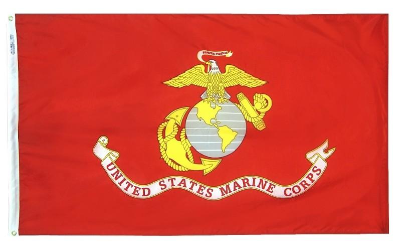 US Marine Corp 3×5 Nylon Flag