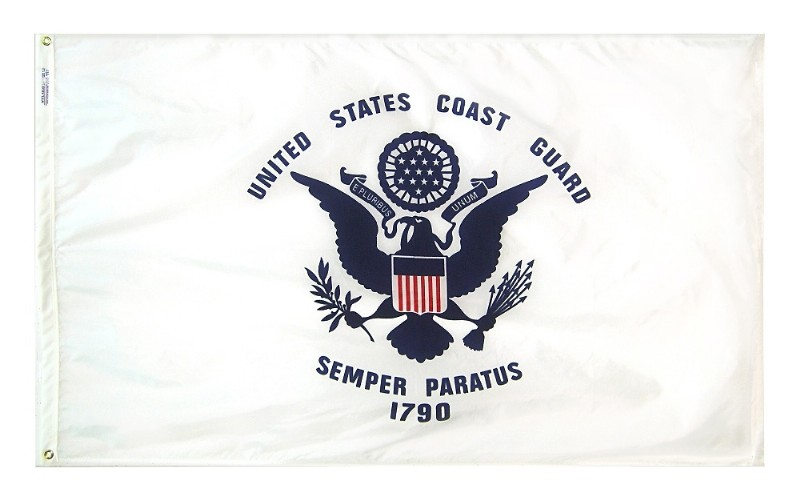 US Coast Guard 3×5 Nylon Flag