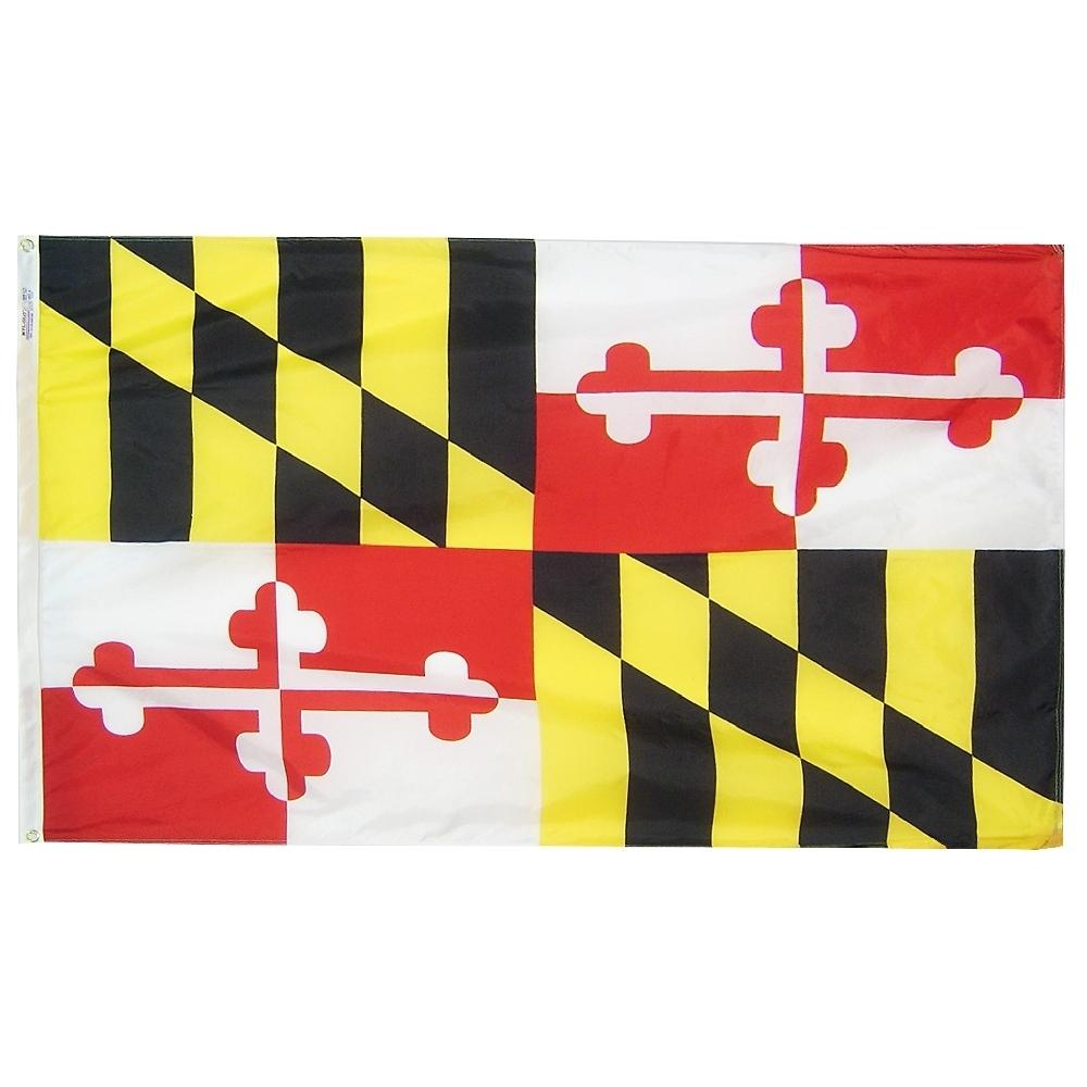 State of Maryland Nylon Flag