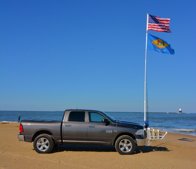 Wonder Pole® Tailgate Flagpole