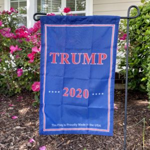 TRUMP 2020 Made in USA garden flag